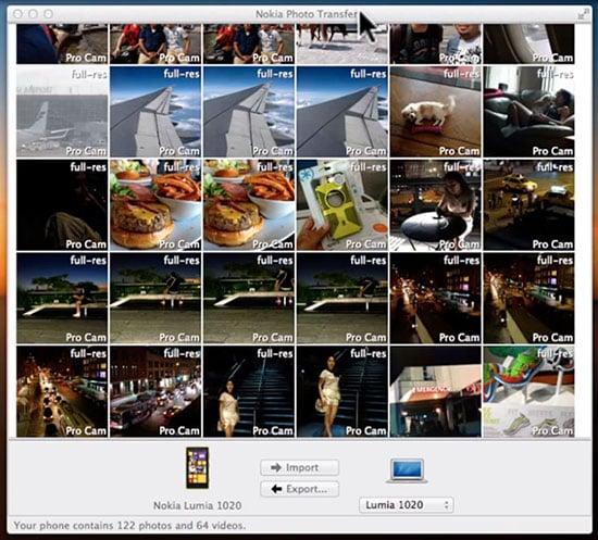 Nokia Releases Lumia Photo Transfer Tool For Mac Users
