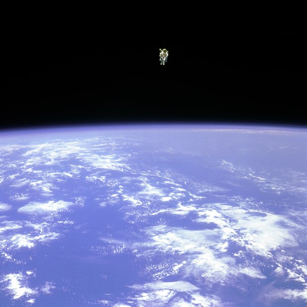 Iconic NASA Space Walk Photos Continue to Inspire