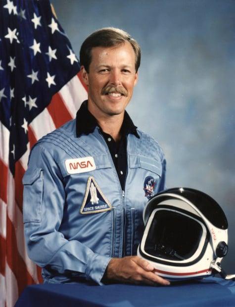 Astronaut Robert Gibson