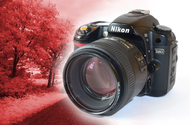 DIY: How to Turn an Old Nikon D80 Into a Permanent IR Camera in Four Easy Steps