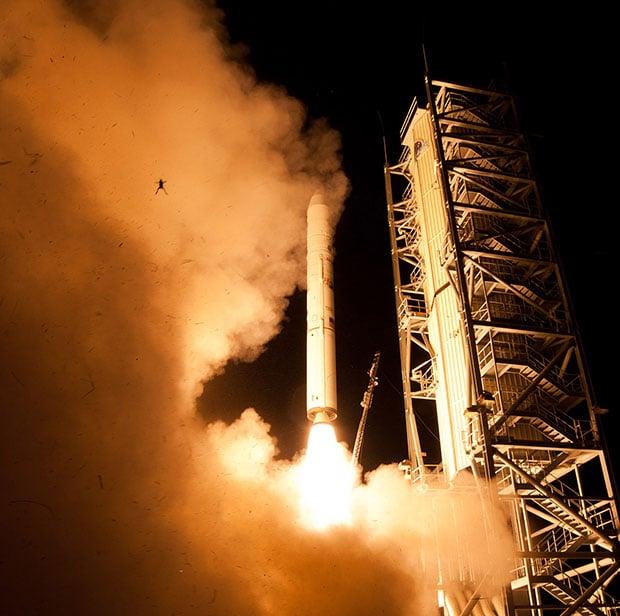 Frog Photobombs NASA Launch Photo