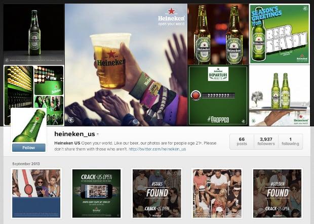Heineken Using an Instagram Scavenger Hunt to Give Away US Open Tickets