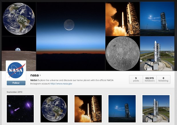NASA Officially Joins Instagram, Already Uploading Awesome Space Photography