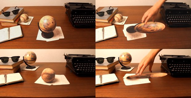 Two-Minute Mind-Bending Demonstration of Perspective Anamorphosis