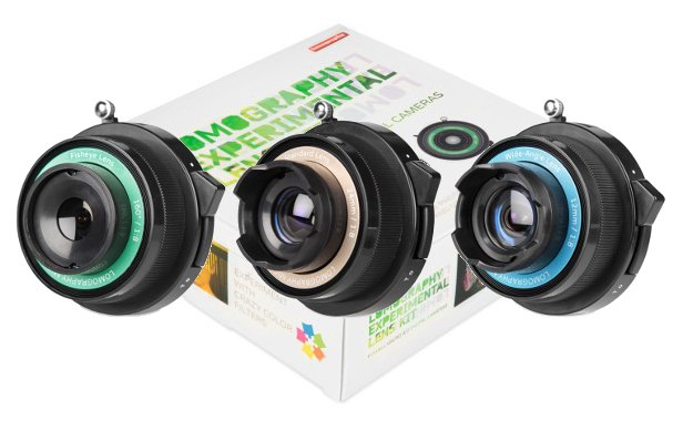 Lomography Releases 'Experimental Lens Kit,' Turns MFT Shooters into Toy Cameras