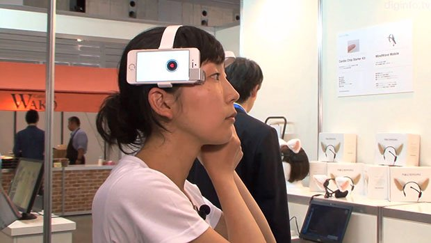 Neurocam is Like a Google Glass Camera That You Control with Brain Waves
