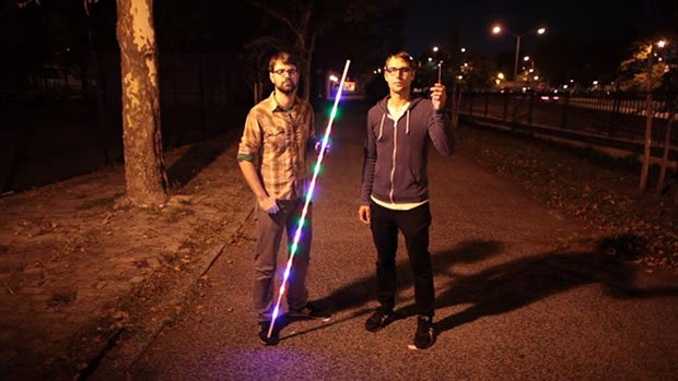 pixelstick: Print Photos In Midair Using This Magical Light Painting Tool