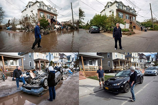 One Year Later: Before-and-After Photos of Hurricane Sandy Damage and Recovery