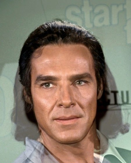 Ricardo Montalbán and Benedict Cumberbatch as Khan Noonien Singh