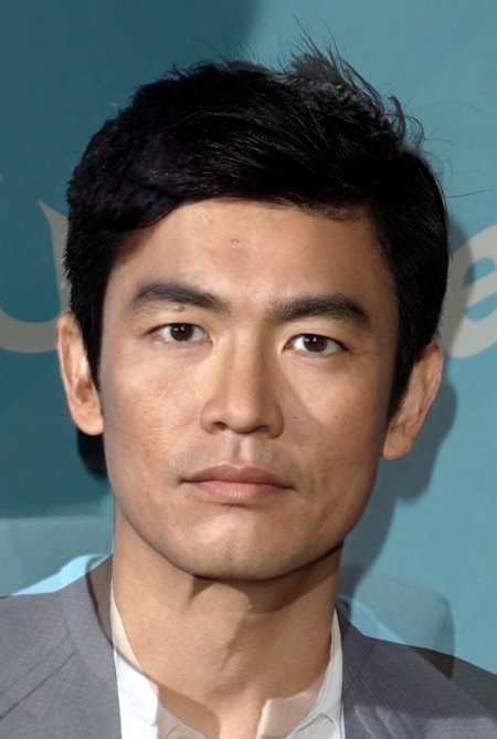 George Takei and John Cho as Sulu