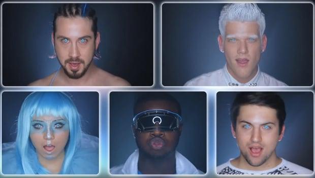 Epic A Cappella Daft Punk Video Decisively Proves that Creativity Trumps Budget