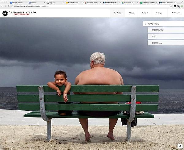 PhotoShelter Beam Websites