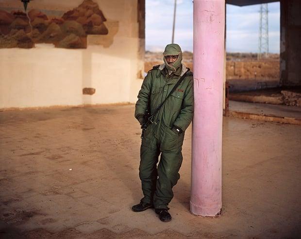 Yitzhak, The Dead Sea Hilton, 2006 ©Yaakov Israel