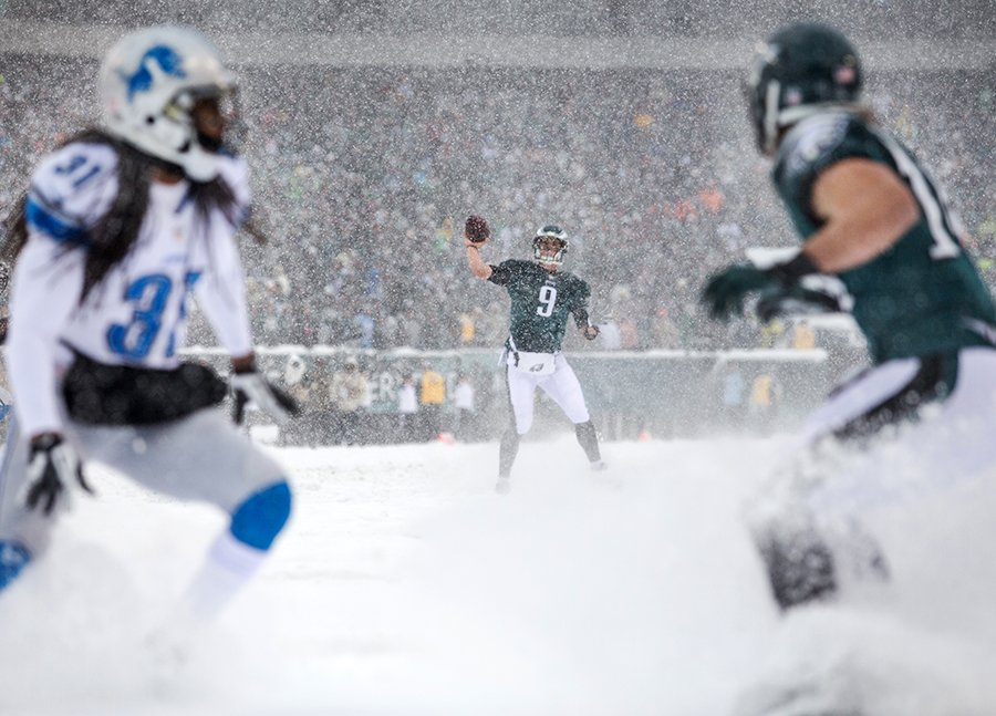 Lions, Eagles and Snow: The Hardest, Most Fun NFL Game I've Ever Shot