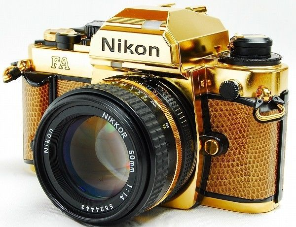 eBay Alert: Care to Pick Up a 24 Karat Gold-Plated Nikon FA? It'll Only Cost You $4,800
