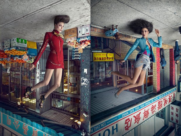 Creative Photo Series Quite Literally Turns Fashion Photography on Its Head