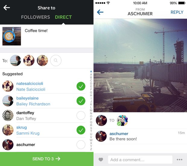Instagram Unveils 'Instagram Direct,' Lets You Send Pics and Video to Specific People