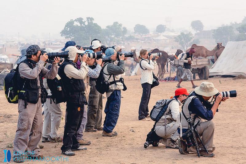 Pushkar Mela: A Fair for Camels or Photographers?