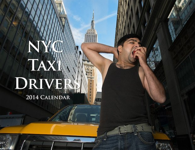 Photographers Put Together Hilarious NYC Taxi Driver Pinup Calendar for Charity