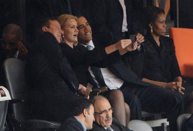 Photographer Who Captured Obama Selfie Moment Now 'Ashamed of Mankind'
