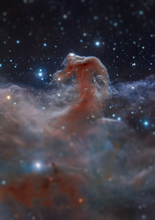 Horsehead Nebula Original image & credit: NASA, ESA, and the Hubble Heritage Team (STScI/AURA). Assembly and processing by Robert Gendler. http://www.robgendlerastropics.com/HH-HST-ESO.html