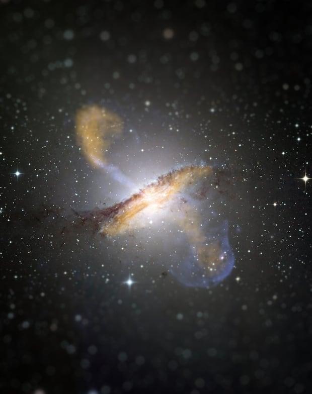 Centaurs A Original image & credit: ESO/WFI (Optical); MPIfR/ESO/APEX/A.Weiss et al. (Submillimetre); NASA/CXC/CfA/R.Kraft et al. (X-ray) http://www.eso.org/public/images/eso0903a/