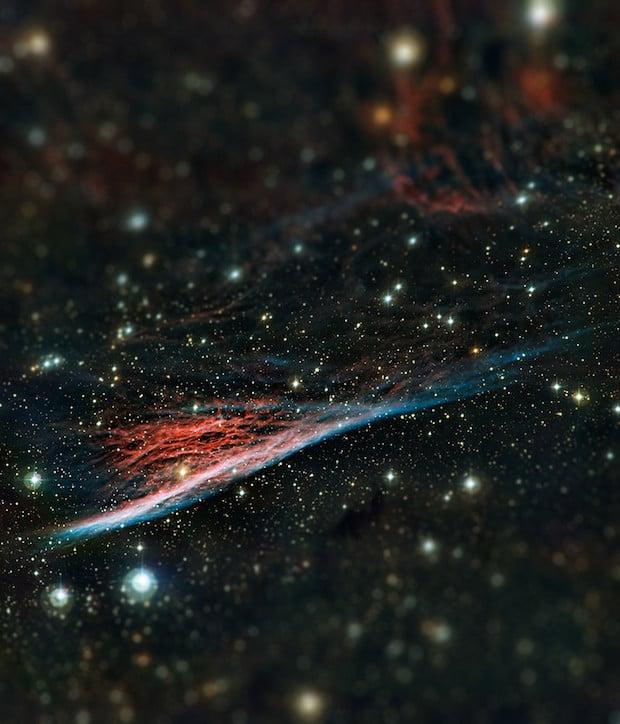 Pencil Nebula Original image & credit: ESO http://www.eso.org/public/images/eso1236a/