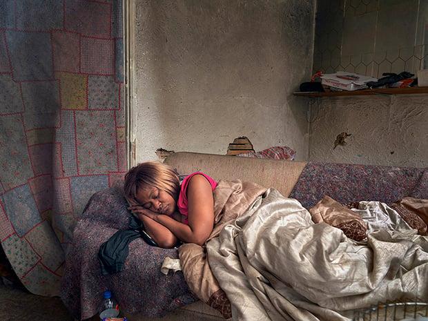 Diane Sleeping, Eastside, Detroit 2013