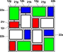 RGBW-pixels
