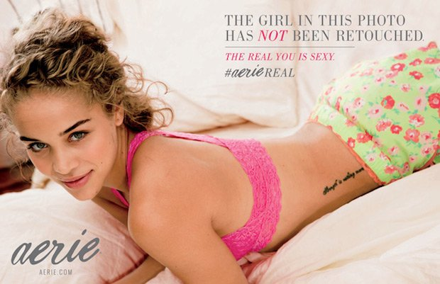 Lingerie Ads Aimed at Young Women Take a Stand Against Retouching