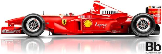 Michael Schumacher's Ferrari: More Than Just a Photo Shoot