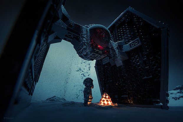 Awesome Miniature Movie Stills Shot Using LEGO and Baking Powder