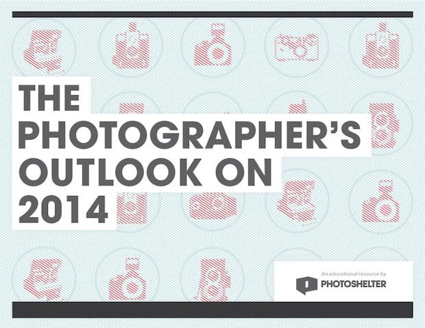 PhotoShelter's Photog's Outlook on 2014 Survey is Packed Full of Interesting Info