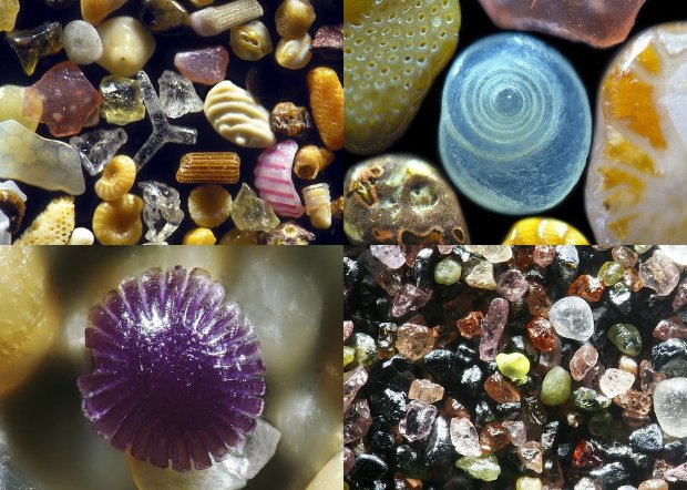 Microscopic Sand Photography Reveals the Breathtaking Beauty Hiding at the Beach