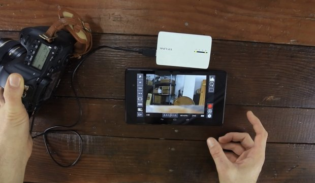 DIY: Take Wireless Control of Your Canon DSLR Using a $30 Router and Android