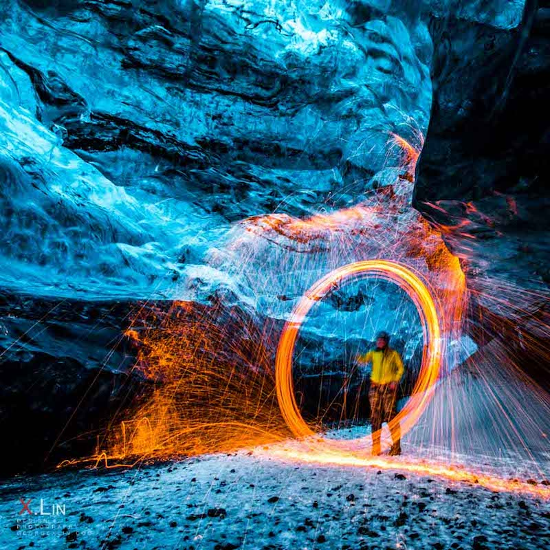 Photographing the Jaw-Dropping 'Crystal Caves' of Iceland