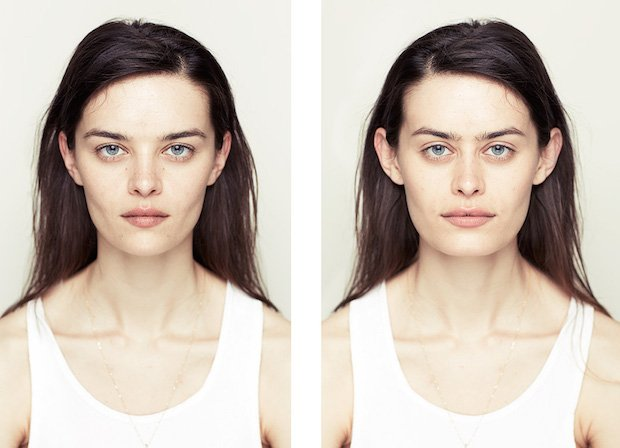 Perfectly Symmetrical Portraits Show that a Symmetrical Face is Not Always Beautiful