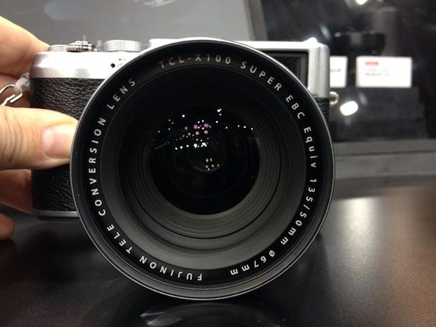 50mm Tele Conversion Lens for the Fujifilm X100/S Spotted at CP+