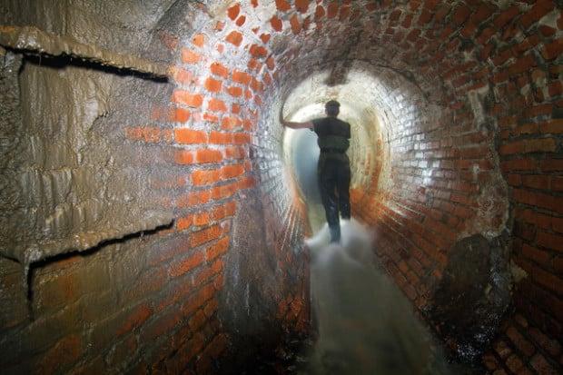 Cote Au Baron Collector Sewer