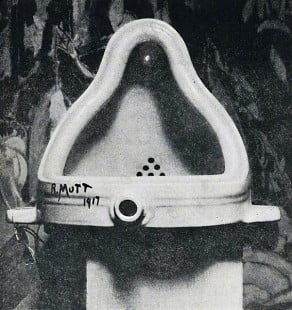 Duchamp's Fountain, Photographed by Alfred Stieglitz