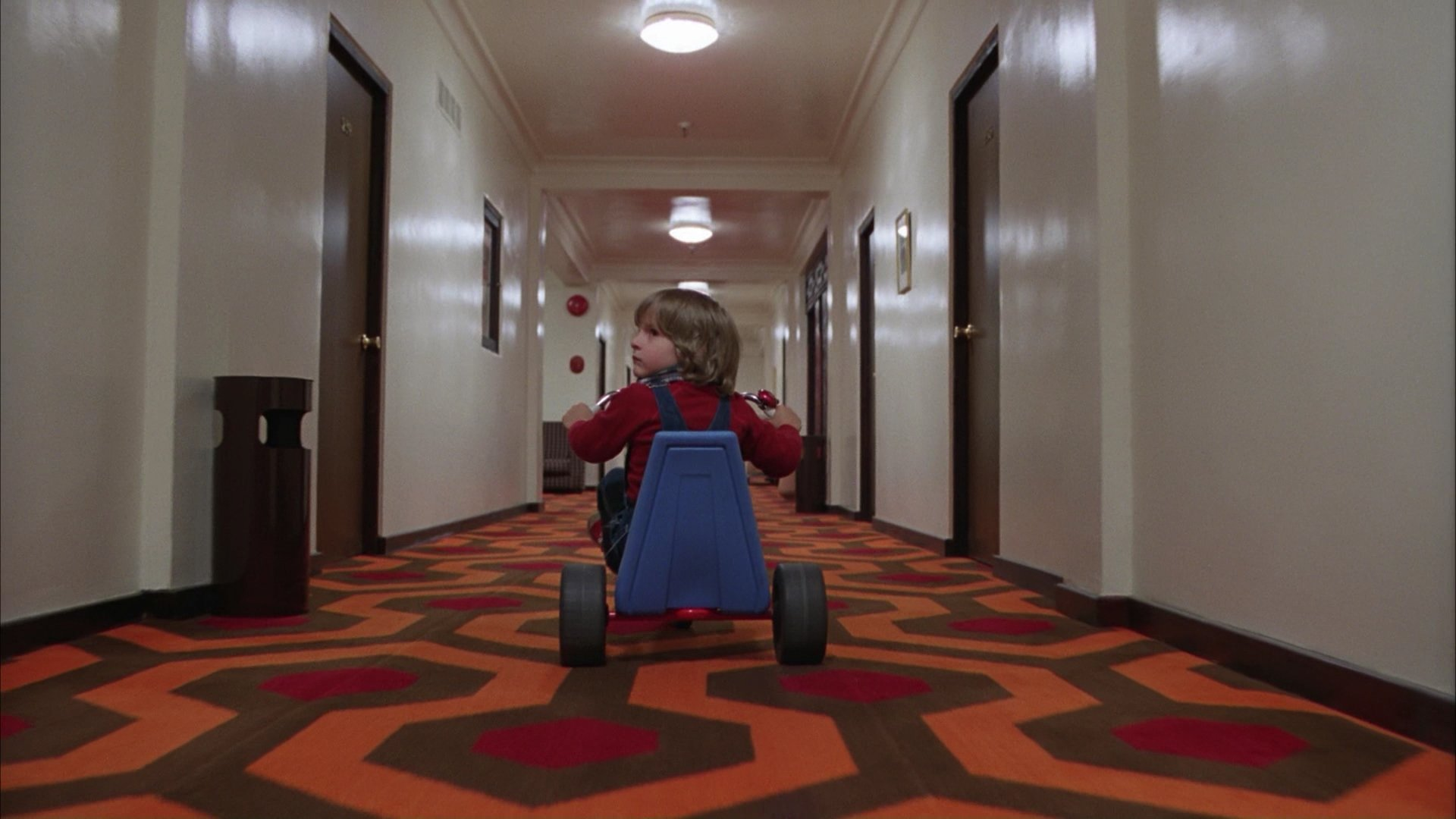 Interesting technical photography aspects of shooting The Shining
