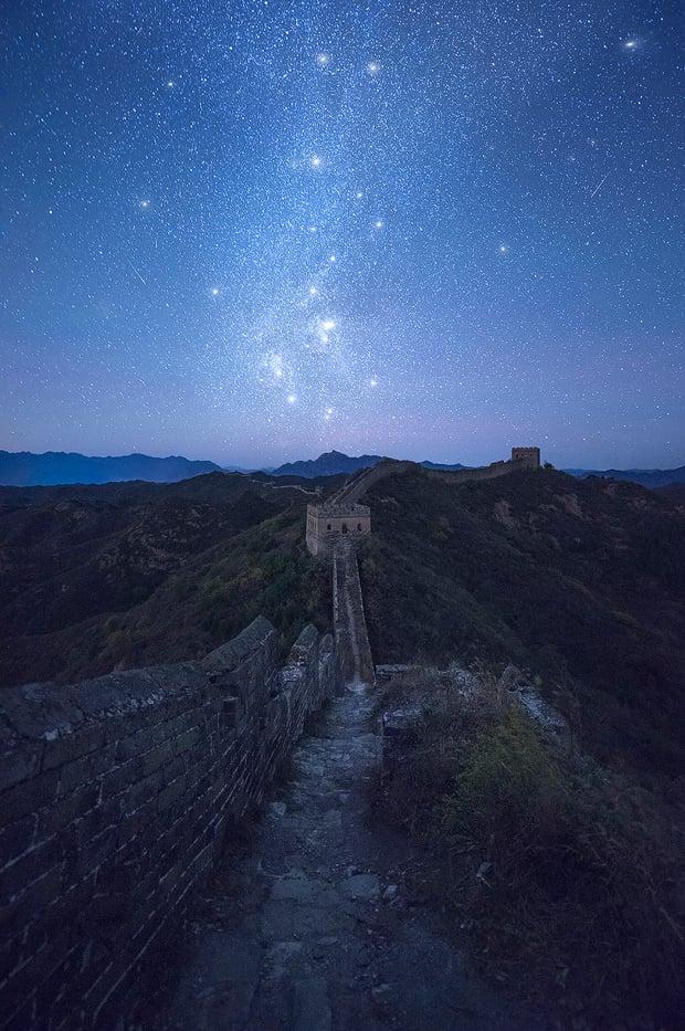 Silent-Witness---Jinshaling-Great-Wall,-China