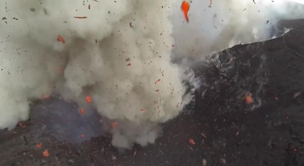 Volcano Drone