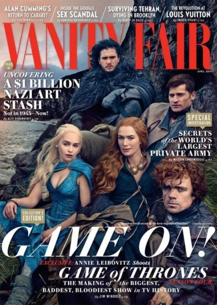 Behind the Scenes: Annie Leibovitz' Game of Thrones Photo Shoot for Vanity Fair
