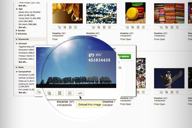 Getty's New Embed Tool Makes Millions of Photos Free to Use Non-Commercially