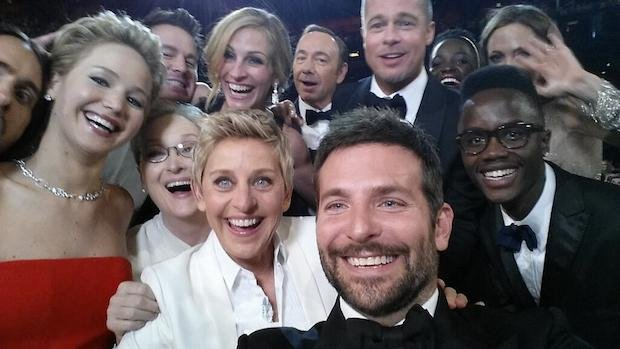 Ellen Oscar Selfie Officially Most Retweeted Photo Ever, 2.5 Million and Counting