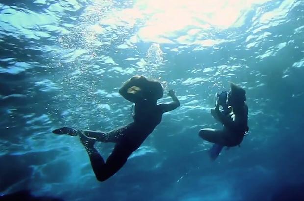 Underwater - Magazine cover