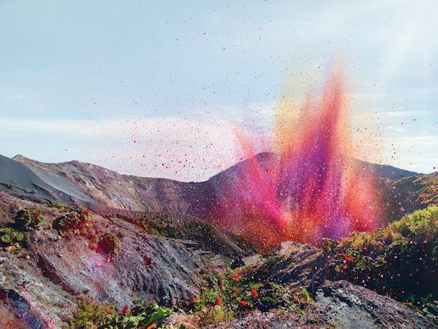 Nick Meek Sony Bravia Volcano