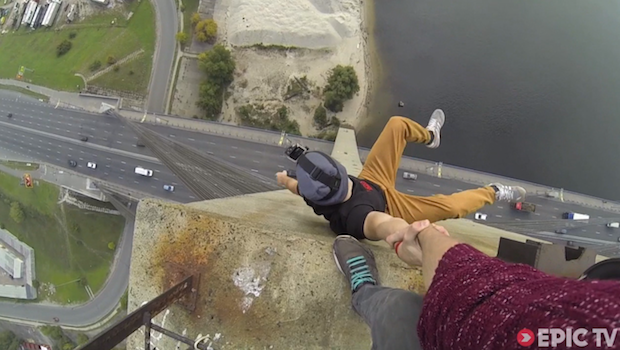 Freerunners' Vertigo-Inducing POV Bridge-Top Adventures End with Getting Arrested