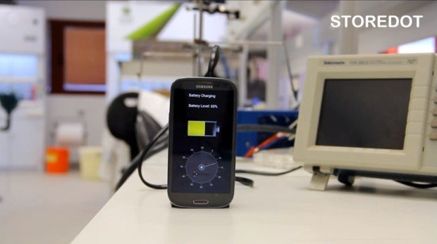 Israeli Start-Up Shows Off Crazy Prototype Battery that Charges In 30 Seconds